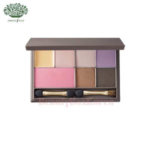 INNISFREE Sidney's Vintage Rose Make Up Set with My Palette Medium [My Palette-Summer Cool Mute ]